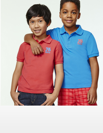 Boys Poloshirts, Set of 2