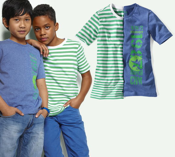 Boys Shirts, 2pcs. short sleeve