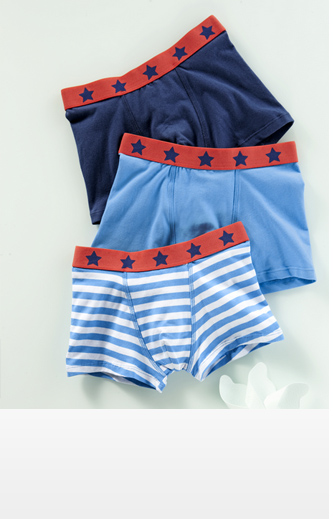 Boys Slipboxer, set of 3