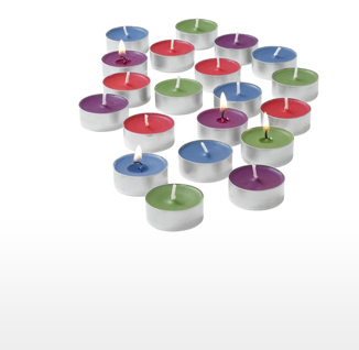 Scented Tealights, 20pcs