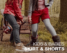 kids skirts and shorts